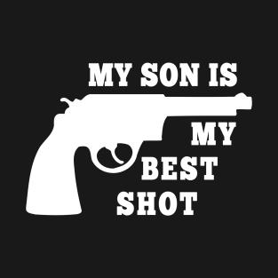 a3013c5c Redneck Dad: My Son Is My Best Shot T-Shirt
