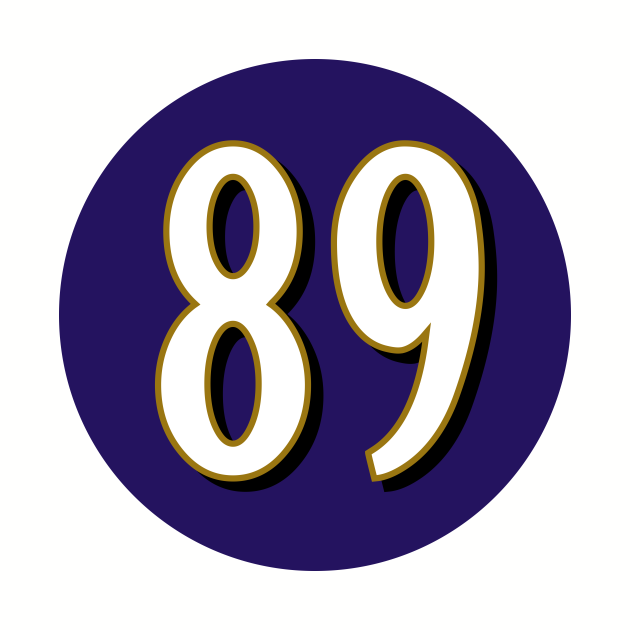 Mark Andrews Baltimore Ravens Number 89 Jersey Inspired