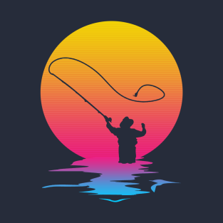 Vintage Retro Fishing Gift Fisherman T-Shirt