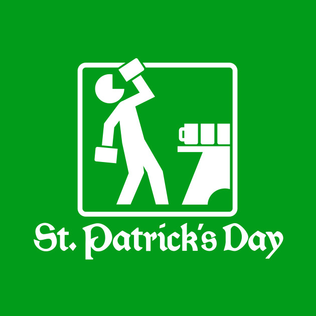 St. Patrick's Day 1 (white)