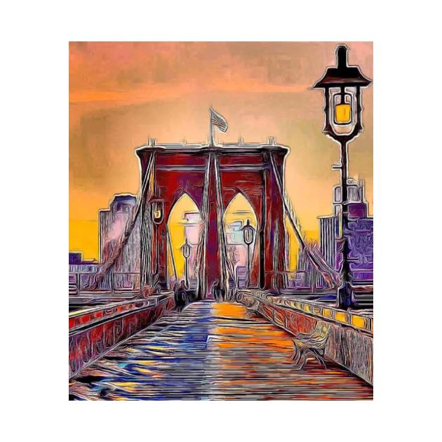 Brooklyn Bridge by Bellino