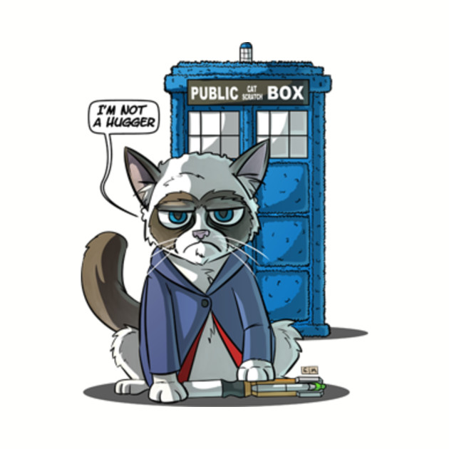 Groutchy Doctor Cat