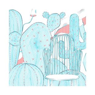 Cactus seat t-shirts