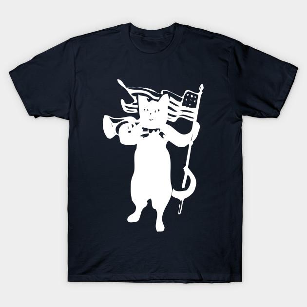 Black Flag  Cat Flag t Shirt  Funny top