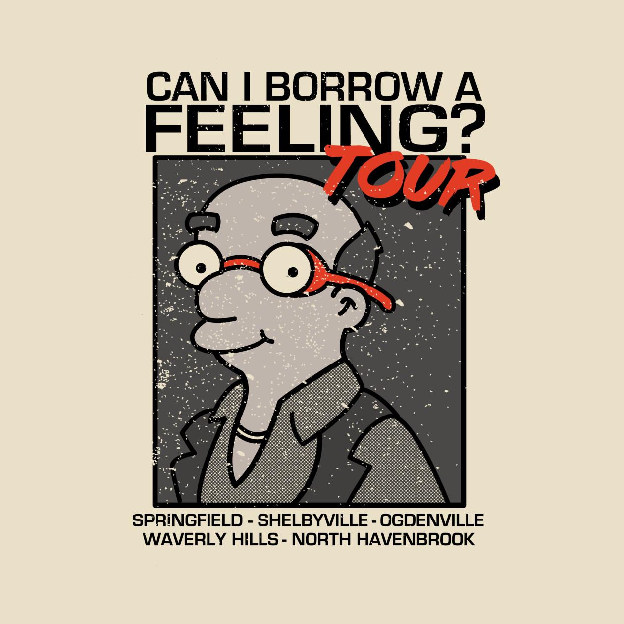 Can I borrow a feeling TOUR