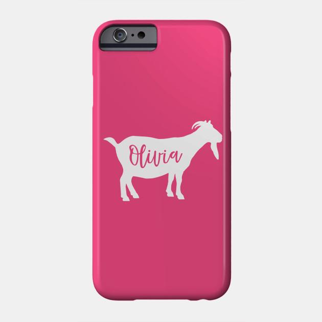 Olivia Goat Spirit Animal Personalized Name Silhouette