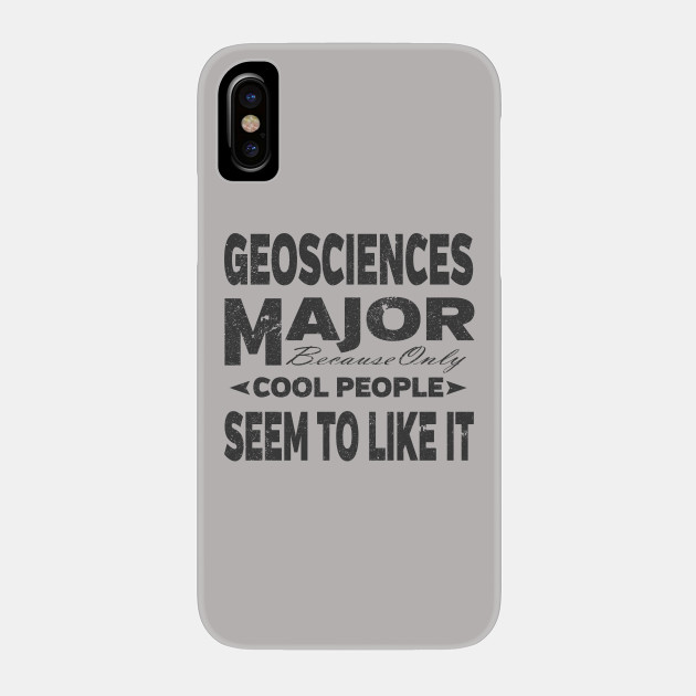 Geosciences College Majors Phone Case