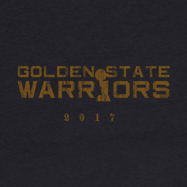 Golden State Warriors 2017 Trophy (destroyed gold print)