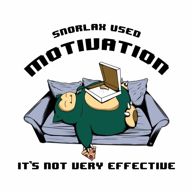 Snorlax used Motivation