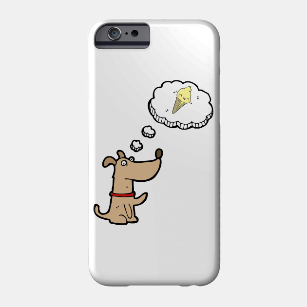 reputable site c893a 359b9 Cute Dog Thinking About Kawaii Ice Cream