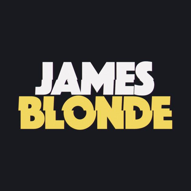James Blonde Classic Logo Merch
