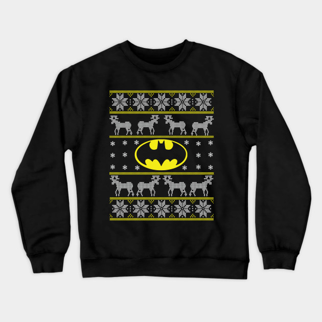 Batman Christmas Sweater.Ugly Christmas Sweater By Mananns