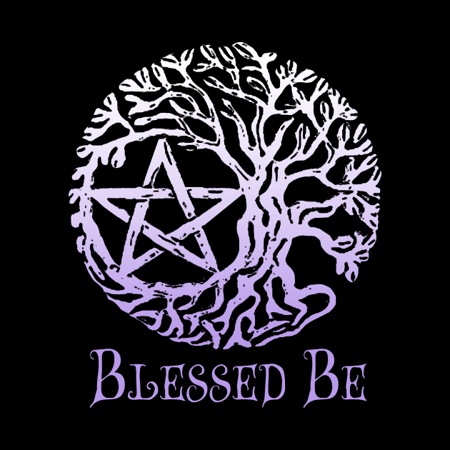 Wiccan & Pagan Sacred Gifts Nature Twigs Pentacle Tree of Life Blessed Be