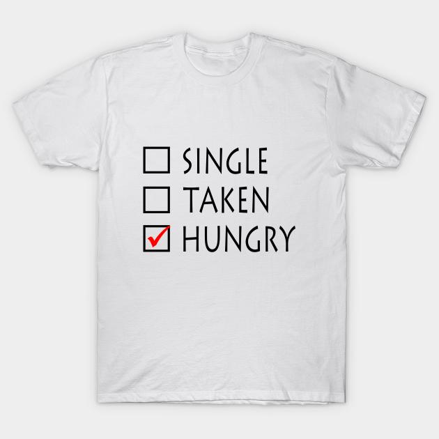 Single taken hungry Premium Vektoren