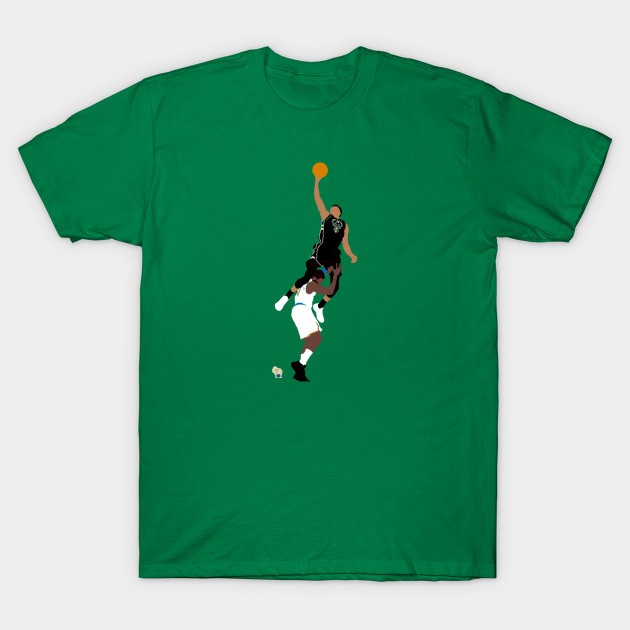 12ad17d0491 Giannis Dunk Over Hardaway - Giannis Antetokounmpo - T-Shirt