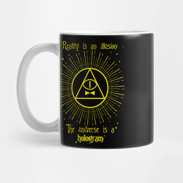 Bill Cipher Quote Bill Cipher Mug Teepublic