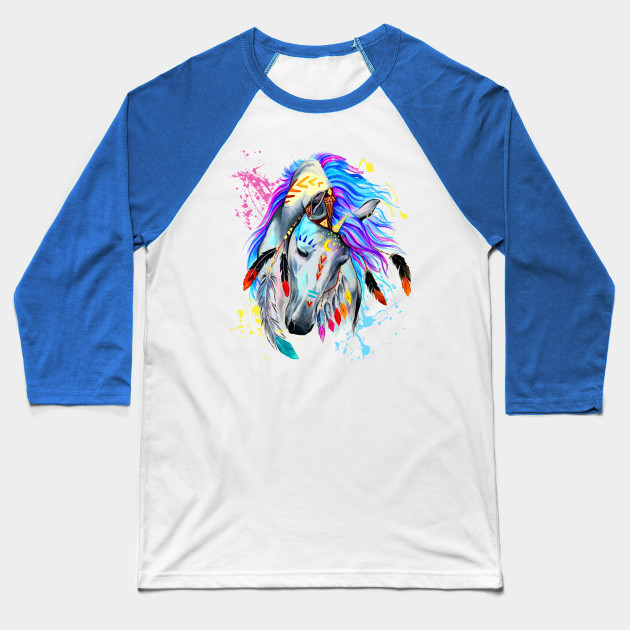 HORSE WATERCOLOR Baseball T-Shirt