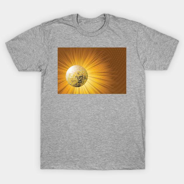 Golden Disco Ball Disco Ball T Shirt Teepublic