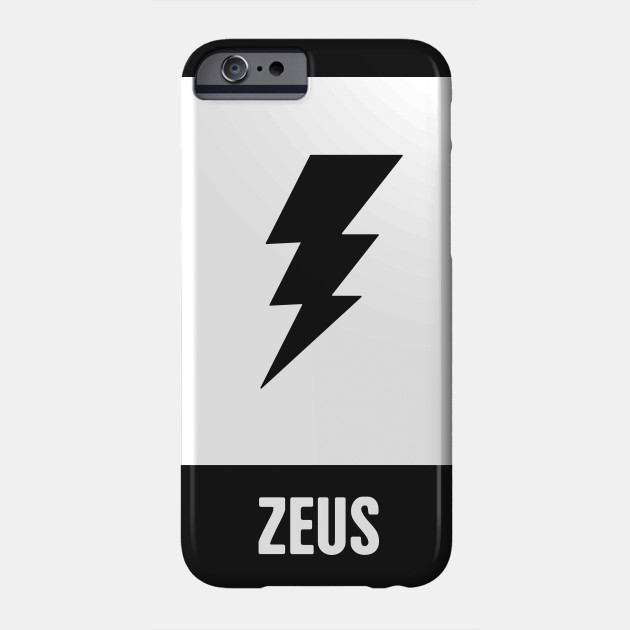 Zeus Greek Mythology God Symbol Greek Mythology Phone Case