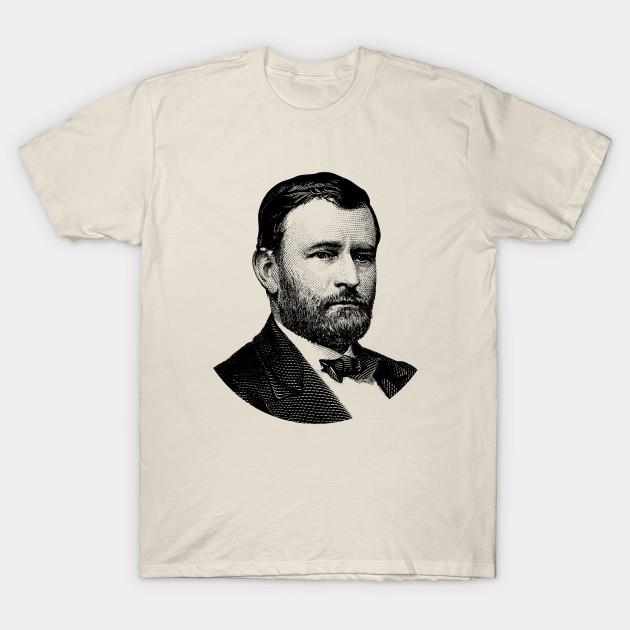 Grant American President  Men Shirts T-Shirt Tee Ulysses S