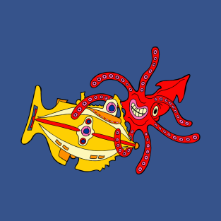 We Live in Fear in a Yellow Submarine
