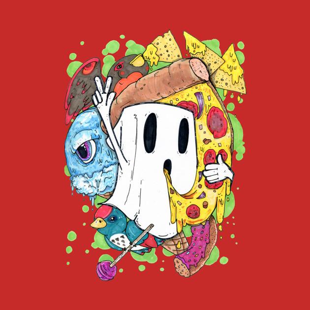 Junk Food Ghost
