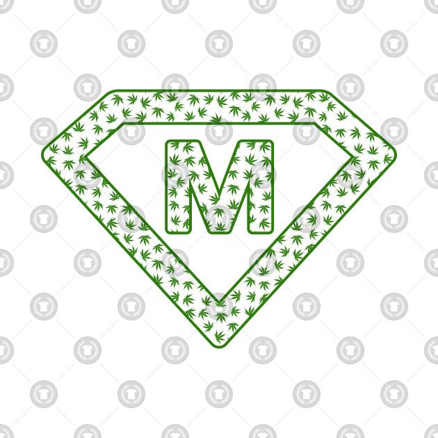 Marijuana letter M