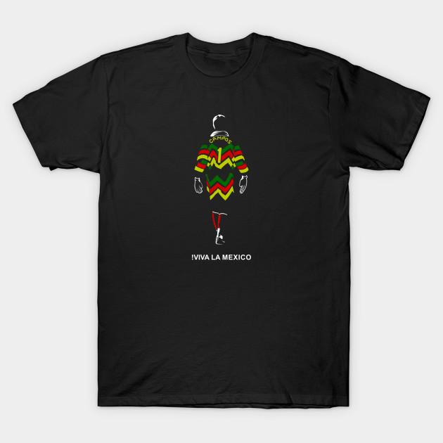 948b8f4254f Jorge Campos - Mexico Soccer - T-Shirt | TeePublic