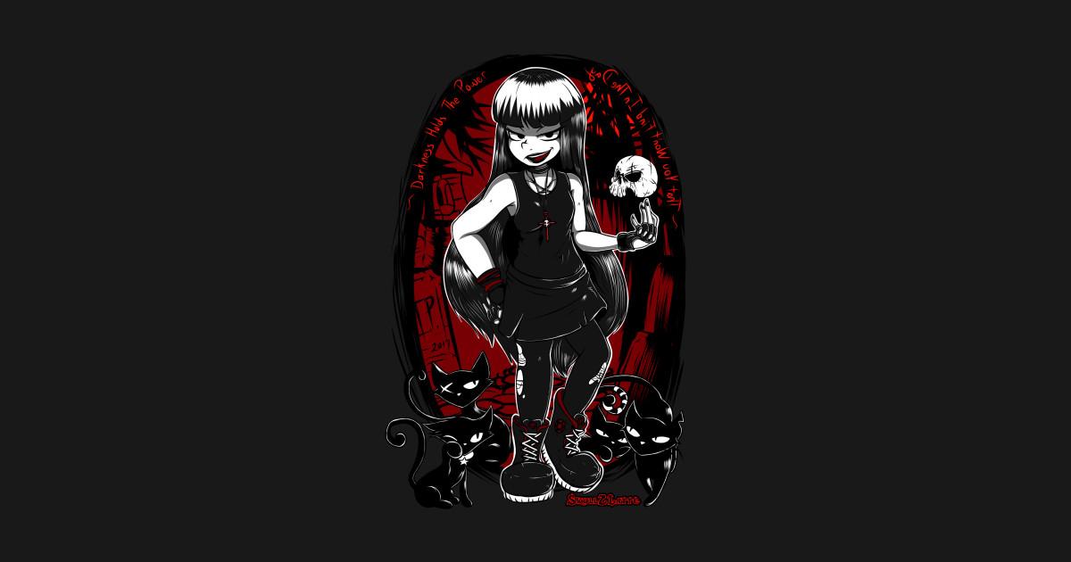 Emily the Strange Kapuzenpullover Gothic Wgt