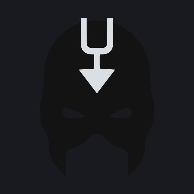 Black Bolt Mask