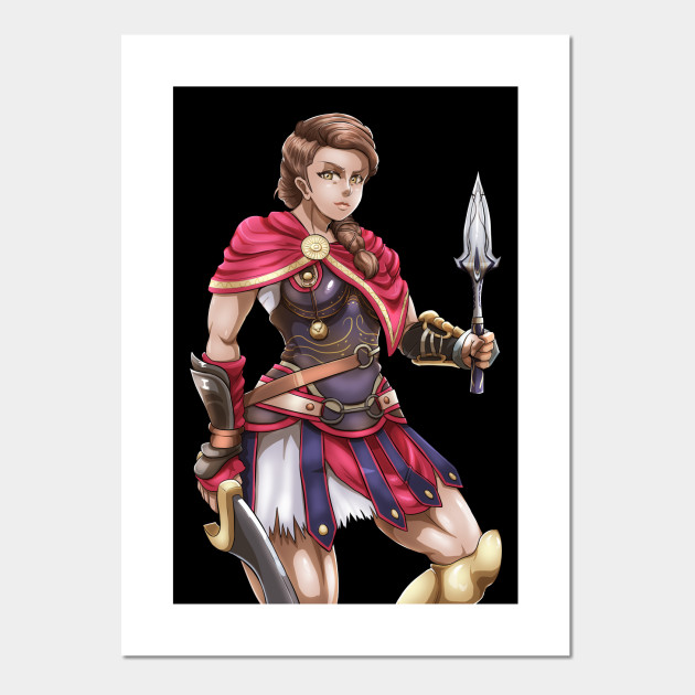 Kassandra Assassins Creed Posters And Art Prints Teepublic
