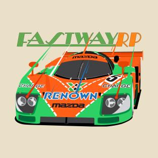 0bd734e5a30 Endless Summer 5.2 - Outrun T-Shirt.  18. Main Tag Racecar T-Shirt