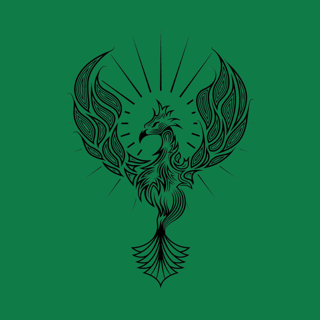 198d8f809 Phoenix Tribal Tattoo Design - Tribal - Kids T-Shirt | TeePublic