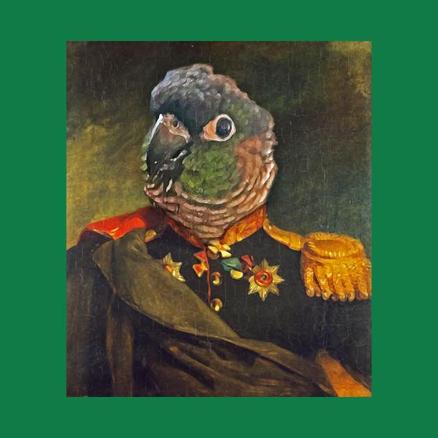 Parrot Miliary Portrait