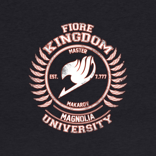 Magnolia University white red