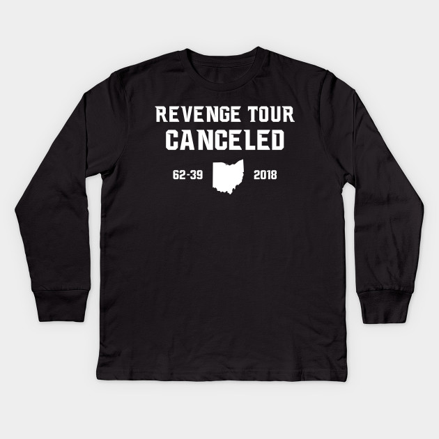 287a121c Revenge Tour Canceled 2018 - Revenge Tour Canceled - Kids Long ...