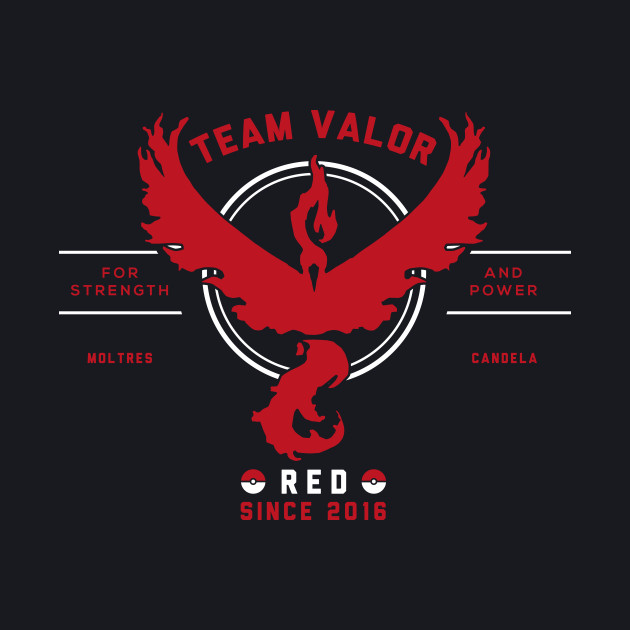 Team Valor I Choose You!
