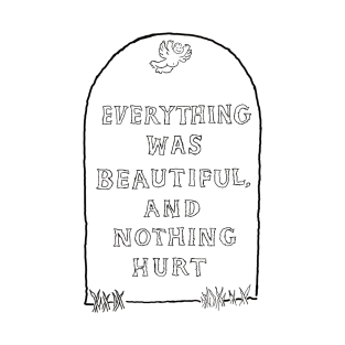 Everything Was Beautiful and Nothing Hurt... t-shirts