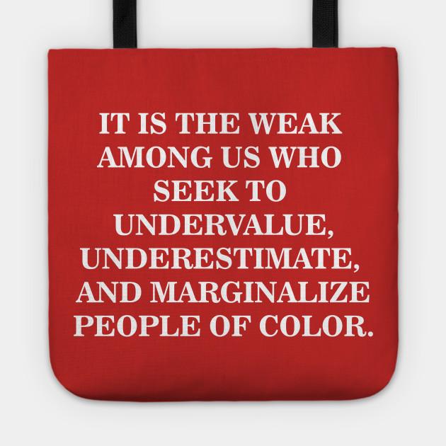 Undervalue, Underestimate, Marginalize | Black History