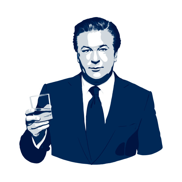 Jack Donaghy in Blue