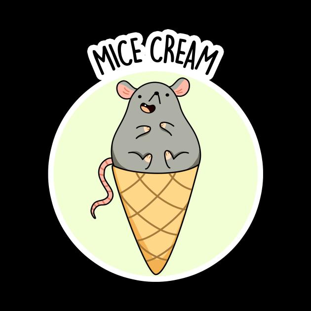 Mice Cream Animal Pun