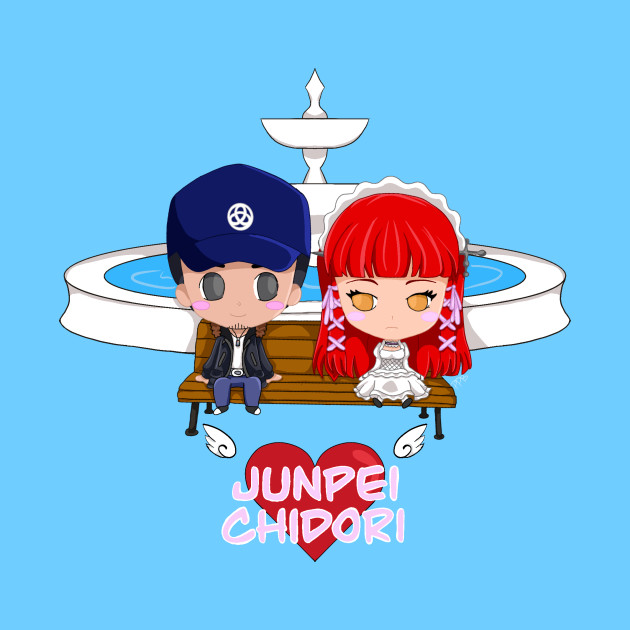 Junpei <3 Chidori