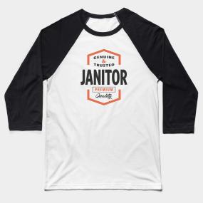 fcdc713d Custodian Baseball T-Shirts   TeePublic