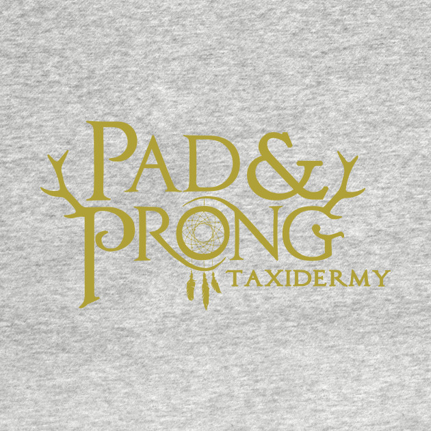 Pad&Prong Taxidermy Logo