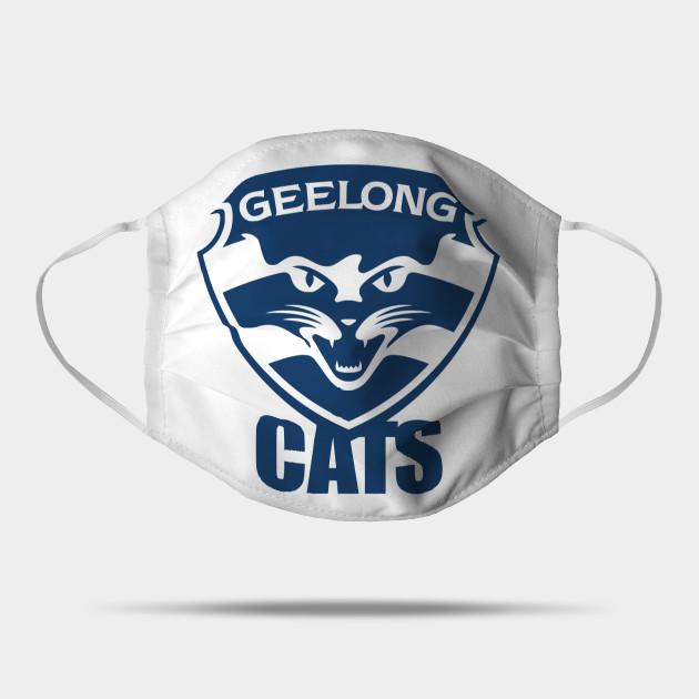 Geelong Cats Geelong Cats Mask Teepublic