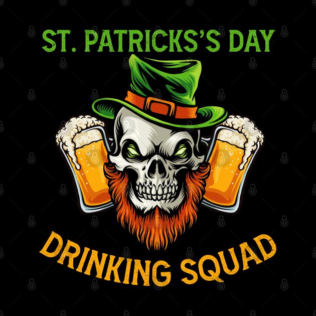 St. Patricks's Day Drinking 2021 Squad Family Bar Parade