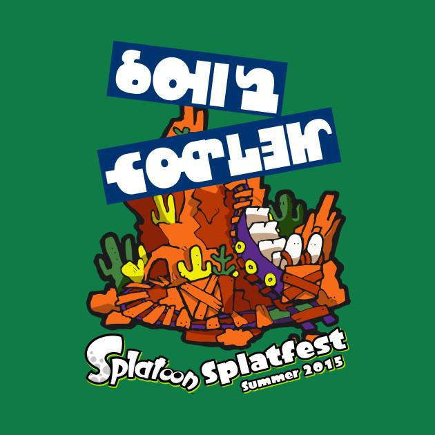Splatfest Team Roller Coaster v1