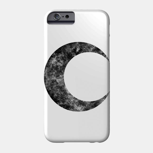 Moon Knight Classic Symbol Black Dirty Moon Knight Phone
