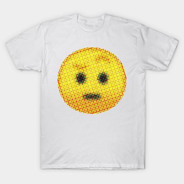 Emoji Suspicious Face With Raised Eyebrow Emojis T Shirt