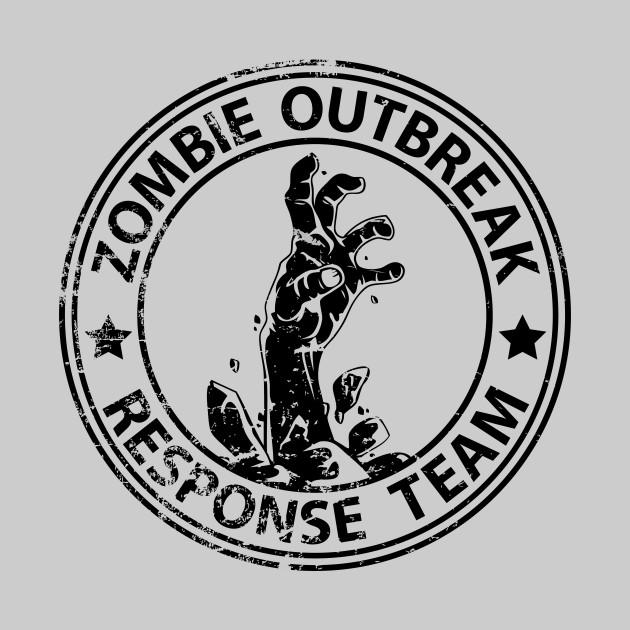 Zombie Outbreak Response Team (black-distressed)